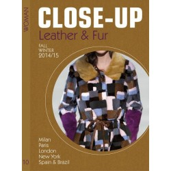 Close Up Leather & Fur Women V-10