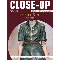 Close Up Leather & Fur Women V-11