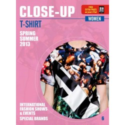 Close Up T-shirt Women V-6