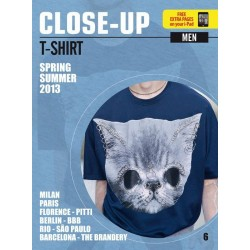 Close Up T-shirt Men V-6